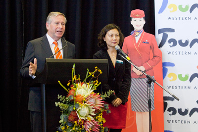 Premier Colin Barnett Southern China Airlines Gala Dinner